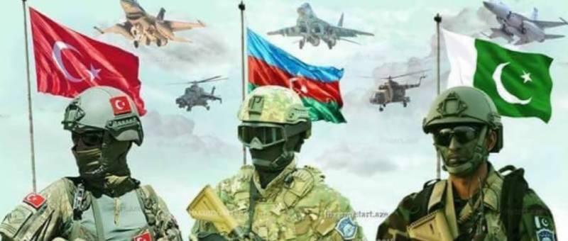 'Three Brothers 2021': Pakistan, Azerbaijan, and Turkey kick off military drills tomorrow