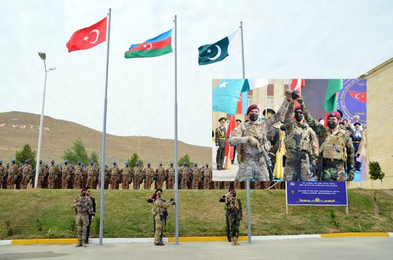 'Brotherhood': Pakistan's special forces take part in trilateral military drills in Azerbaijan