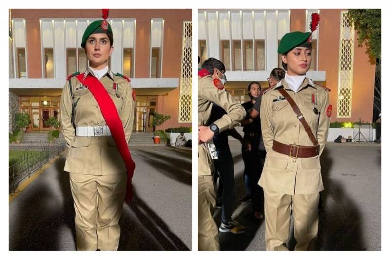 Sajal Aly and Kubra Khan's first look from 'Sinf-e-Aahan' revealed