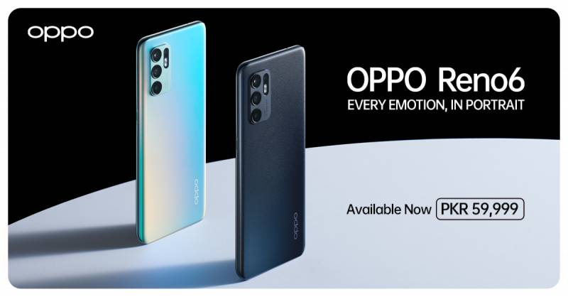 OPPO Reno6 goes on sale in Pakistan: price, specifications, offers