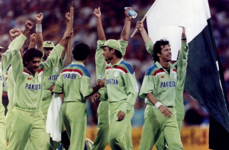 PCB puts iconic jerseys from 1992 World Cup on sale