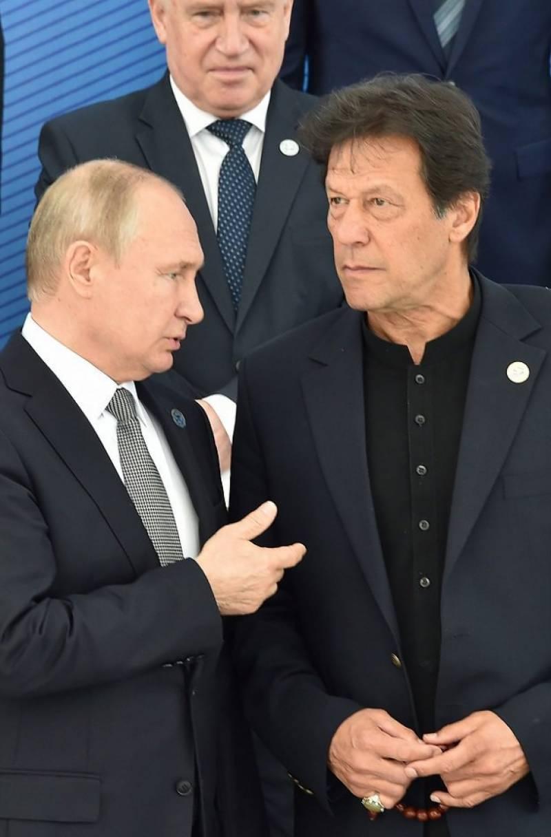 Russia's Putin calls Pakistan's Imran Khan to discuss evolving Afghanistan situation