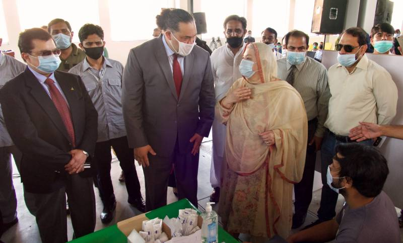 US Consul General donates 0.3mn doses of Pfizer vaccine to Lahore