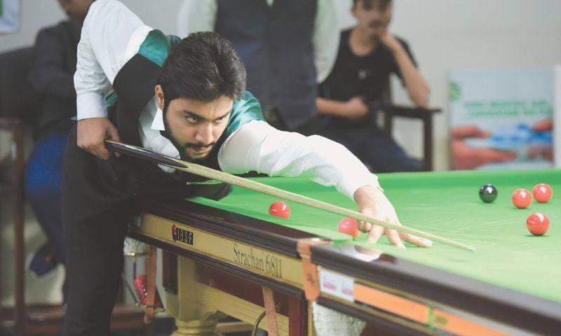 Pakistan's Haris Tahir enters quarterfinals of Asian Snooker Championship