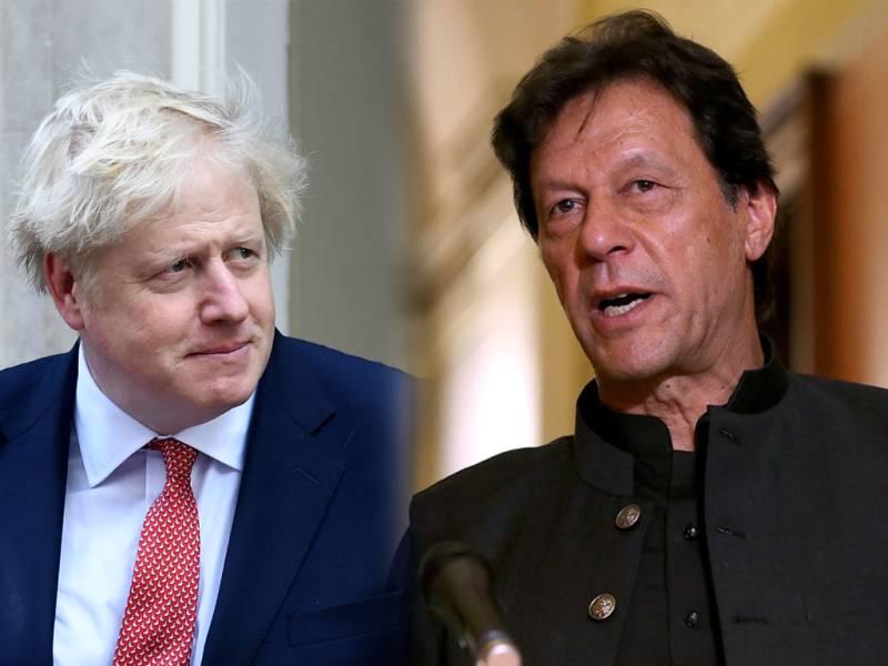 PM Imran condoles death of British PM Boris Johnson's mother
