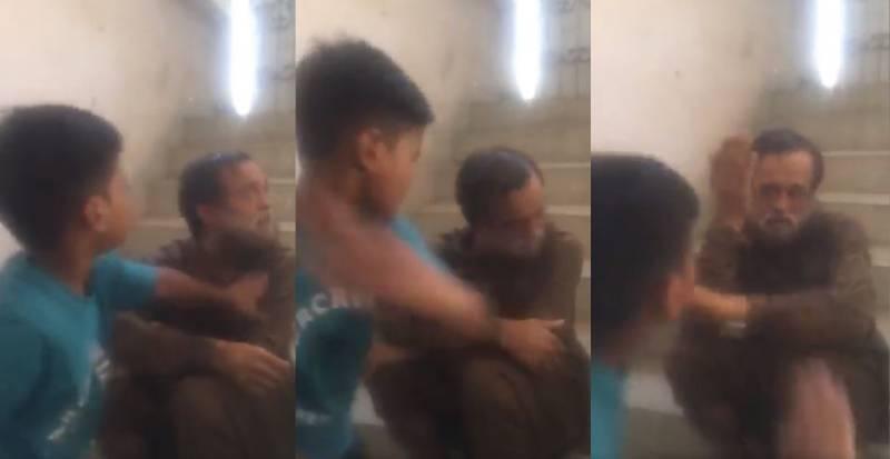 WATCH: 'Influential' man, son torture elderly rickshaw driver in Karachi