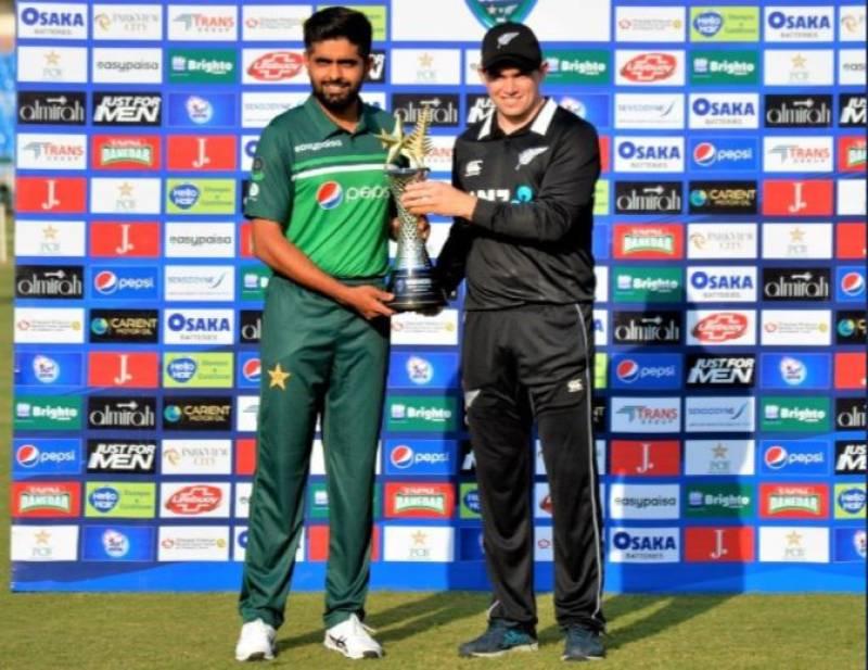 PAKvNZ – Trophy unveiled ahead of first Pakistan-New Zealand ODI clash