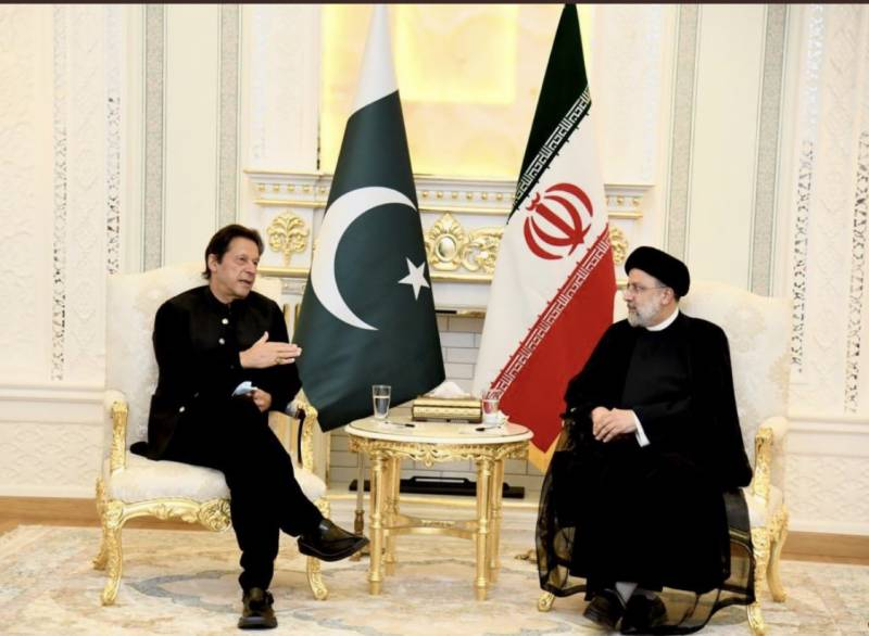 PM Imran, Iranian President Raisi hold first meeting in Dushanbe
