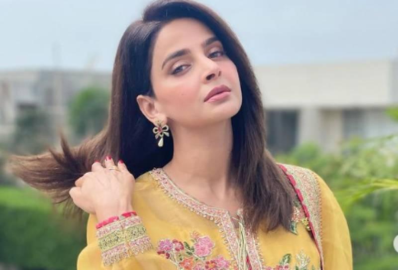 Saba Qamar's new dance video goes viral