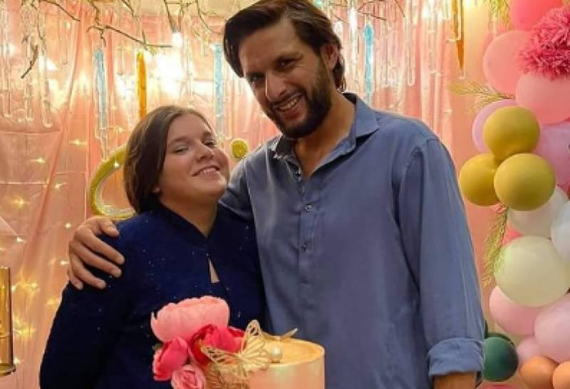 Shahid Afridi pens a heartwarming birthday wish for daughter Ajwa