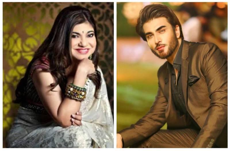 Alka Yagnik super excited for Imran Abbas's new drama serial 'Amanat'