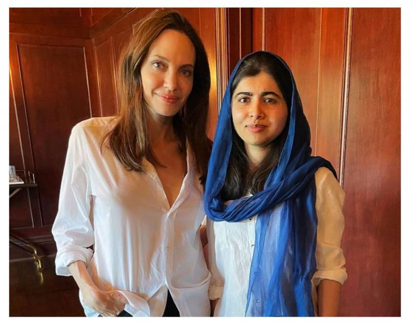 Malala proud of Angelina Jolie for writing a book for children