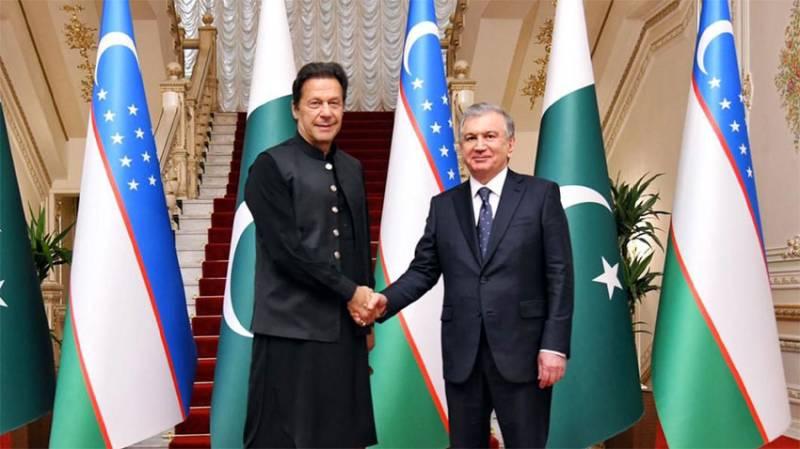 PM Imran stresses expansion of bilateral trade between Pakistan, Uzbekistan