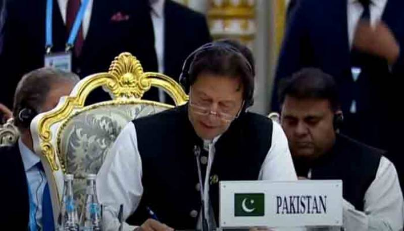 SCO Summit – PM Imran urges world to ensure peace in Afghanistan