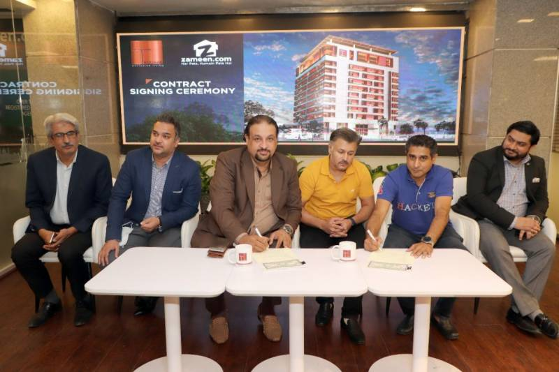 Zameen.com signs on as sales and marketing partner for T Square in Gulberg, Lahore