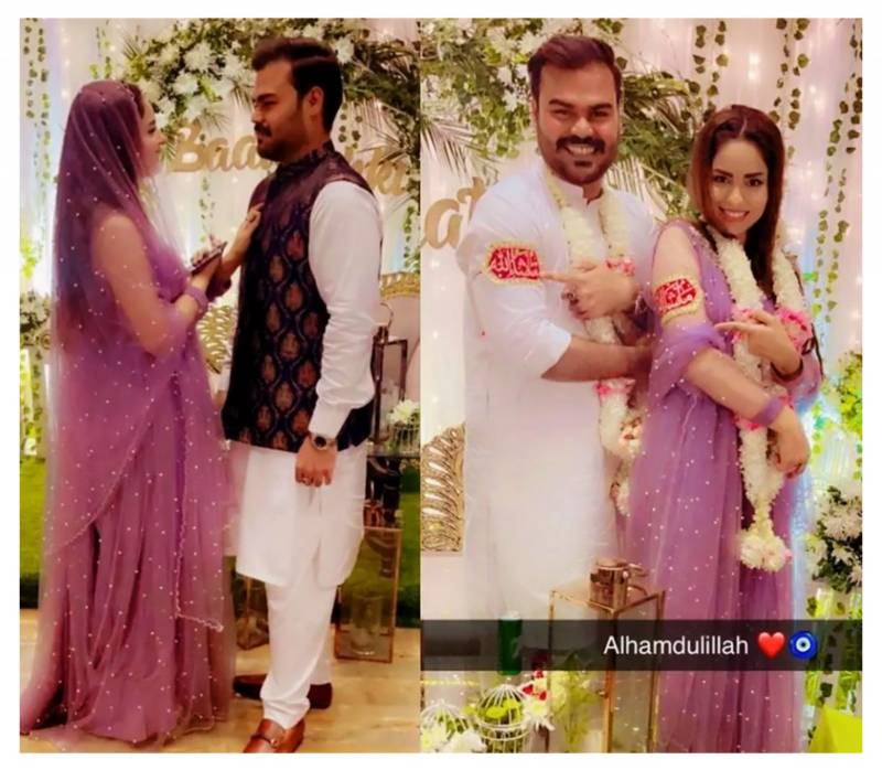 Sukynah Khan's beautiful pictures from her 'Baat Pakki' ceremony win hearts
