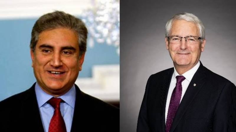 Pakistani, Canadian FMs discuss Afghanistan in phone call