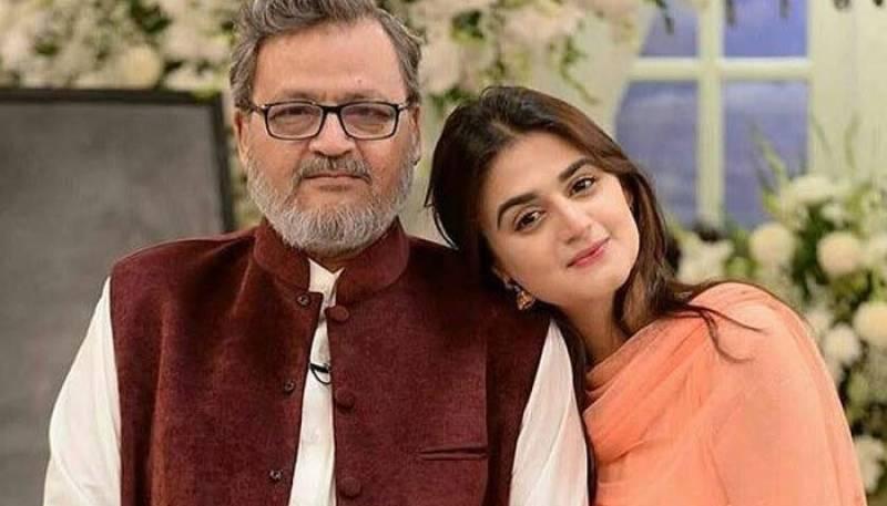 Hira Mani's father passes away in Karachi