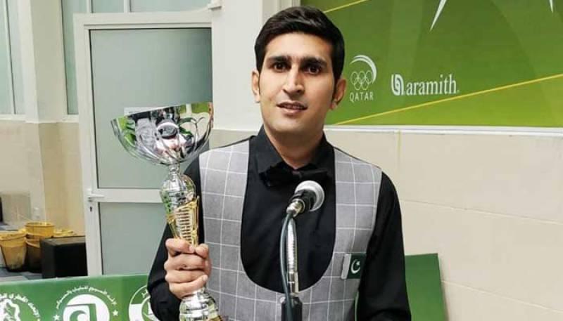 Pakistan's Babar Masih outclasses India's Ishpreet Singh at Six-red World Championship