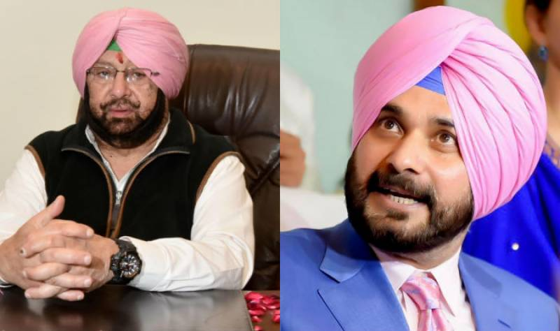 Navjot Sidhu in race for Indian Punjab CM after Amarinder Singh's resignation