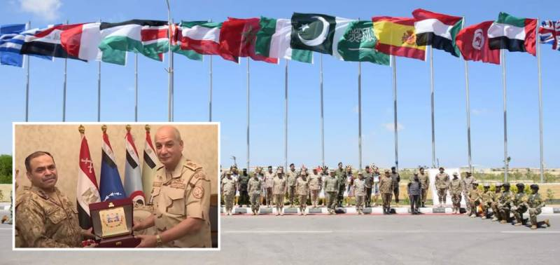 Pakistan Armed Forces participate in Bright Star 2021 drill in Egypt: ISPR (VIDEO)