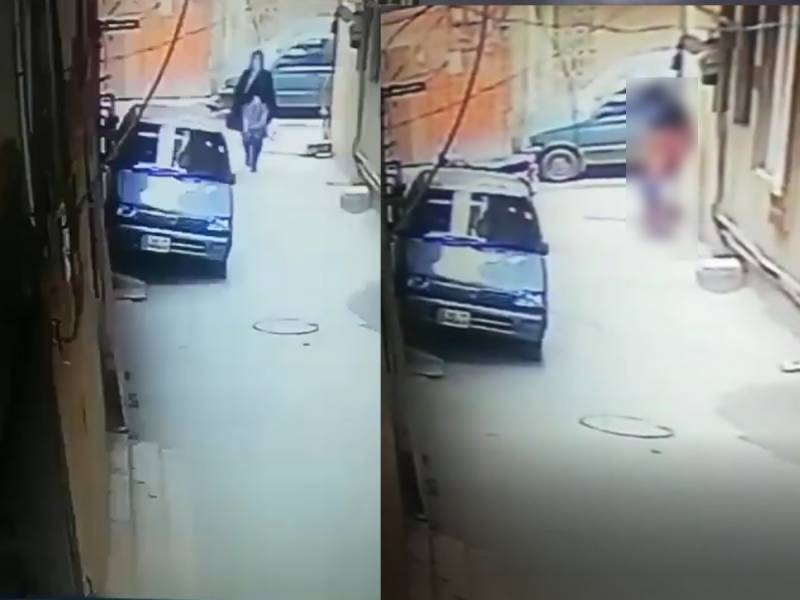 WATCH: Man escapes after exposing himself to a woman in Lahore's Gulshan-e-Ravi