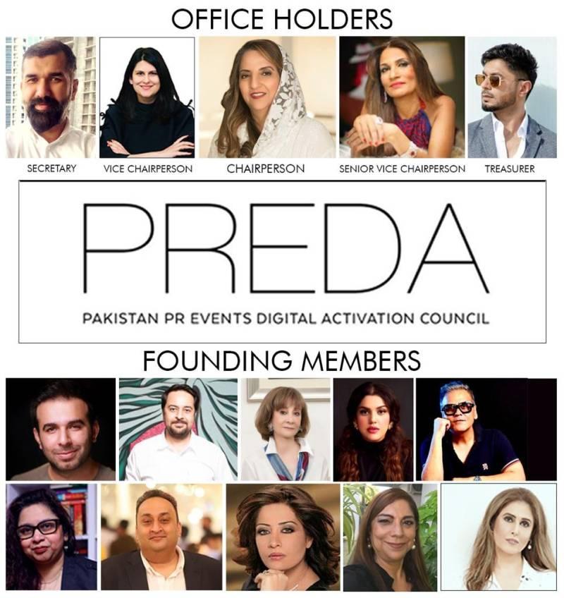 Top PR, event management agencies announce Pakistan's first council 'PREDA'