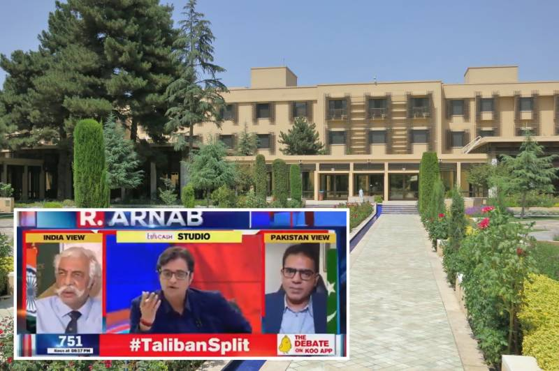 Arnab Goswami ridiculed for claiming Pak Army officers' presence on 5th floor of two-storey hotel in Kabul