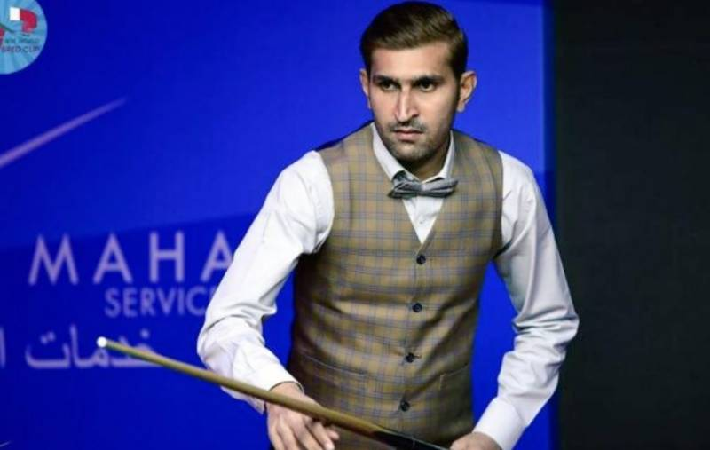 Babar Masih wins Pakistan silver medal at IBSF 6-Red Snooker World Cup