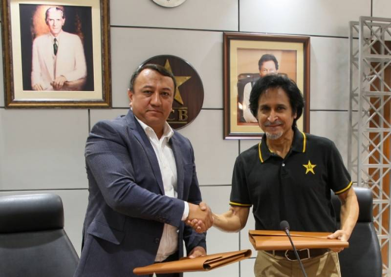Pakistan gives a boost to cricket in Uzbekistan
