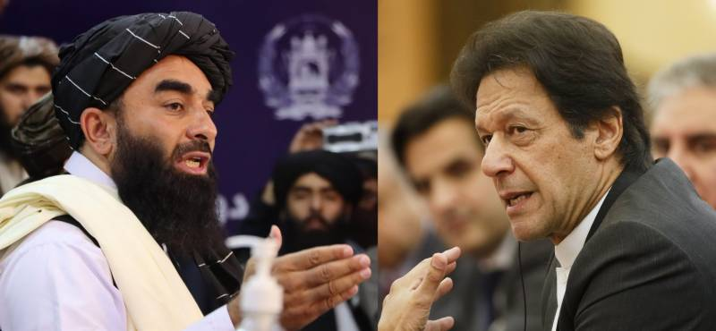 Taliban spox heaps praise on PM Imran for peace efforts in Afghanistan
