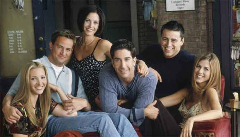 27 years ago on this day TV sitcom 'Friends' debuted