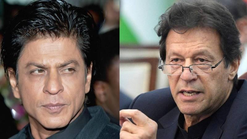 #BoycottShahRukhKhan trends after SRK, PM Imran's photo goes viral