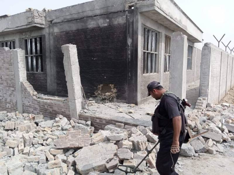 Girls' school damaged in explosion in KP's Tank