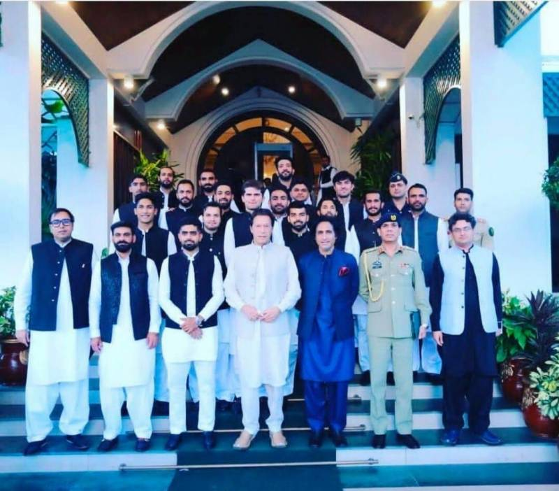 Play cricket aggressively, PM Imran advises Pakistan team ahead of T20 World Cup