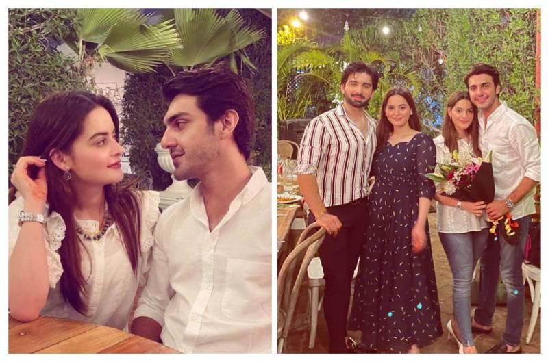 Trolls spoil Minal Khan and Ahsan Mohsin Ikram's beautiful photos