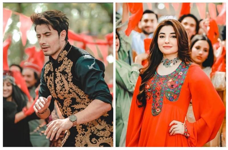Ali Zafar and Gul Panra's new Pashto song wins hearts