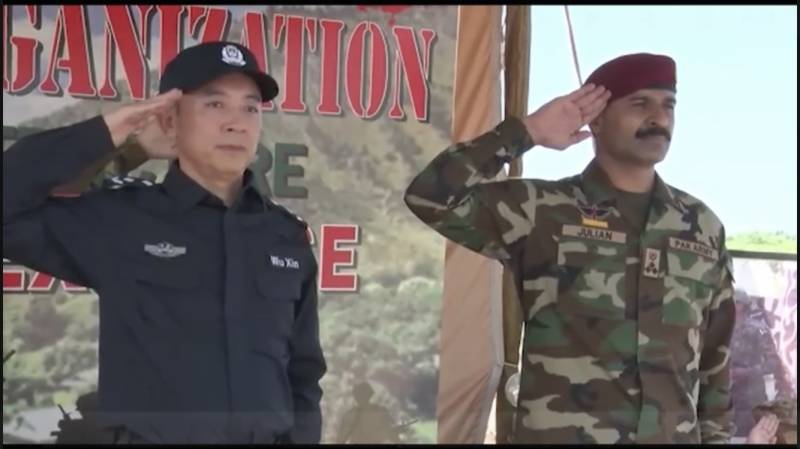 'JATE 2021' – Pakistan-China joint military exercise begins in Pabbi