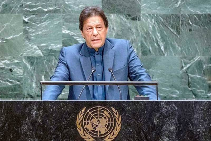 PM Imran addresses UN General Assembly tomorrow