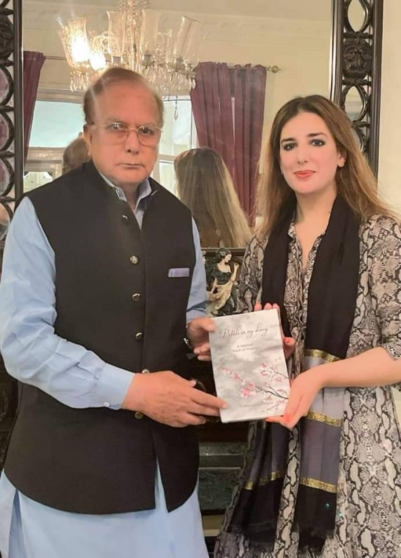 Ayesha Manzoor Wattoo's book 'Petals in My Diary' unveiled in Lahore