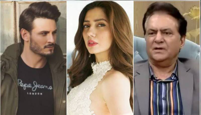 Firdous Jamal's comments about Mahira Khan, Osman Khalid trigger another controversy