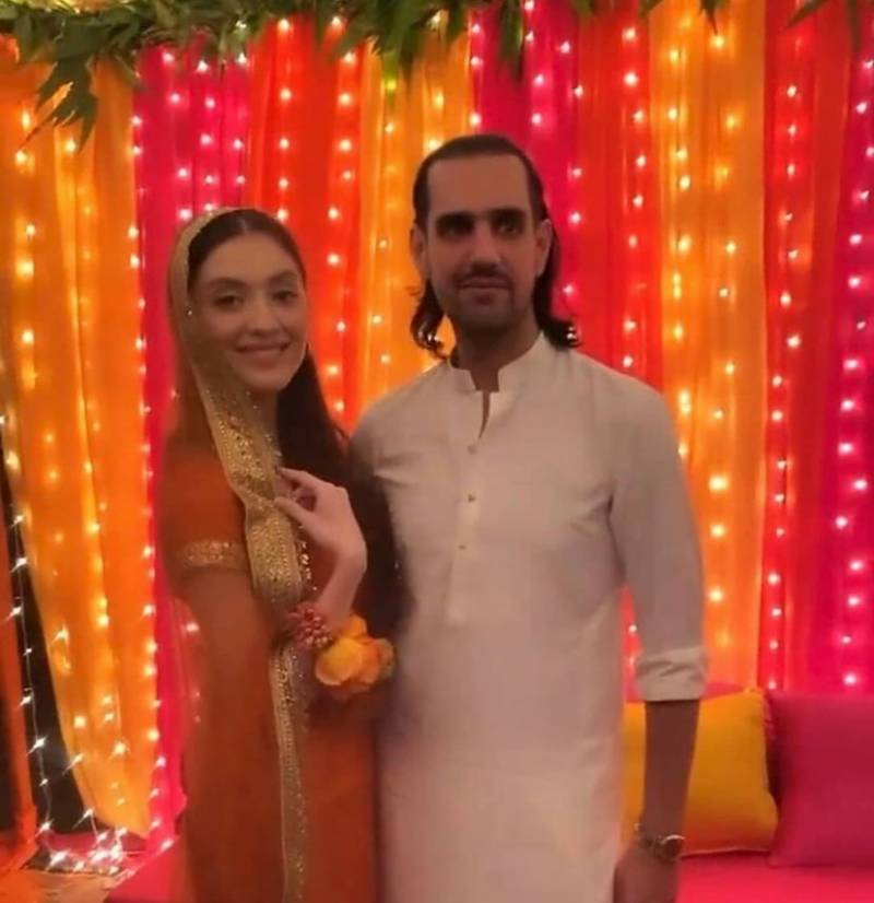 Neha Rajpoot and Shahbaz Taseer's wedding festivities kickstart