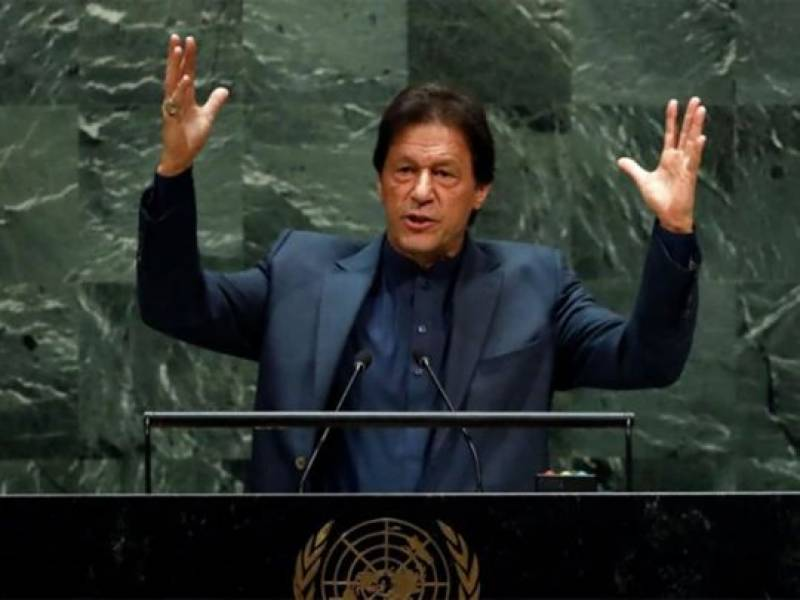 PM Imran to raise Kashmir issue at UNGA tonight