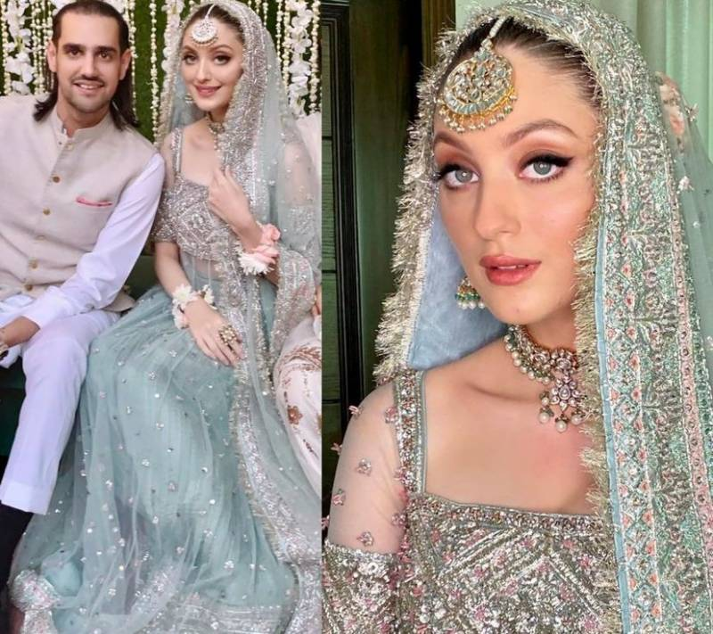 Neha Rajpoot and Shahbaz Taseer tie the knot in a dreamy ceremony