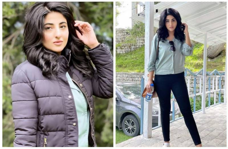 Fatima Sohail spotted enjoying vacations in northern areas
