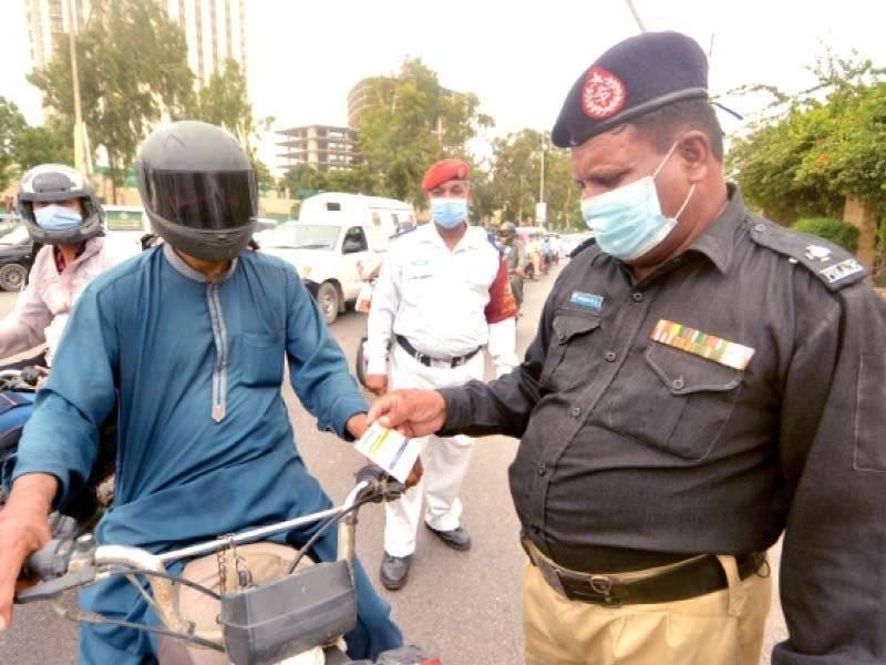 Karachi cops told to halt crackdown against unvaccinated citizens