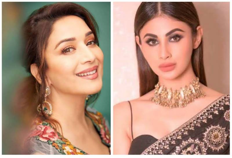 Madhuri Dixit and Mouni Roy's dance video goes viral