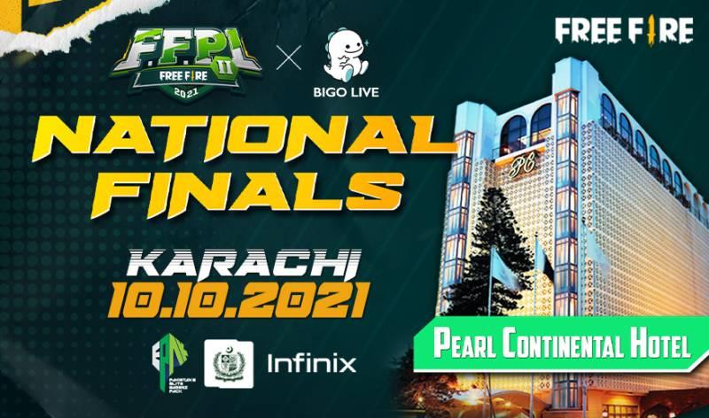 BIGO FFPL II, the Biggest Esport event is all set to happen at Pearl Continental Hotel Karachi