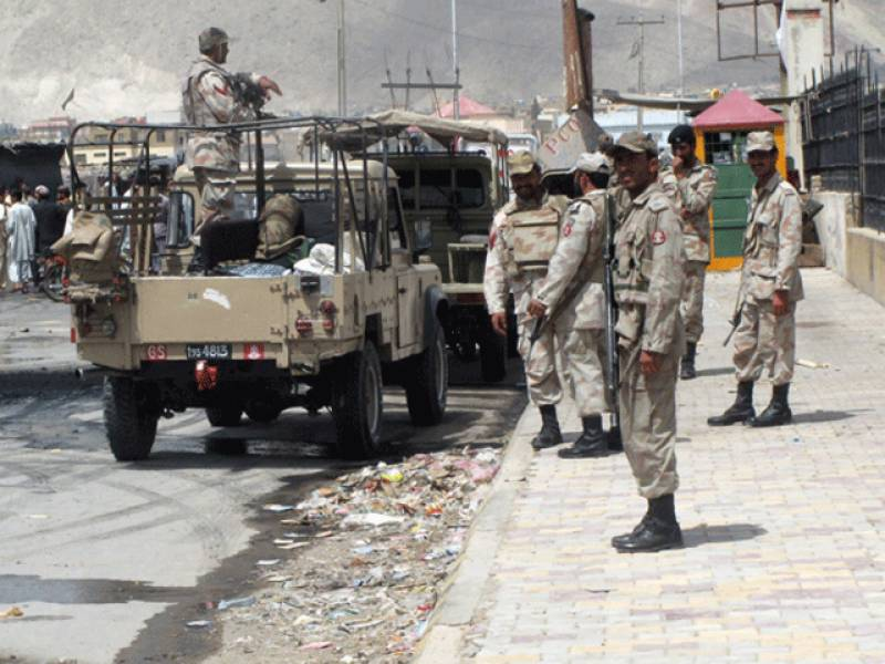 Four FC soldiers martyred, others injured in bomb attack in Balochistan's Harnai