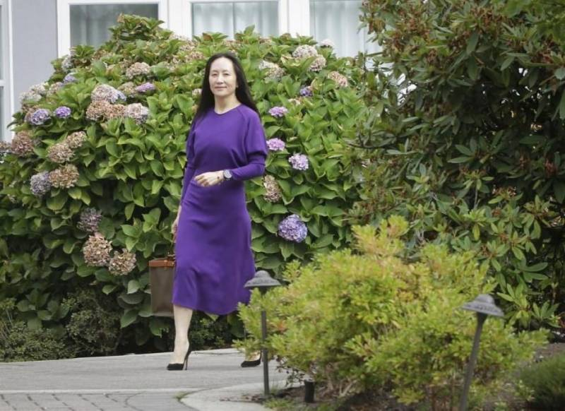 Huawei executive freed by Canada arrives home in China